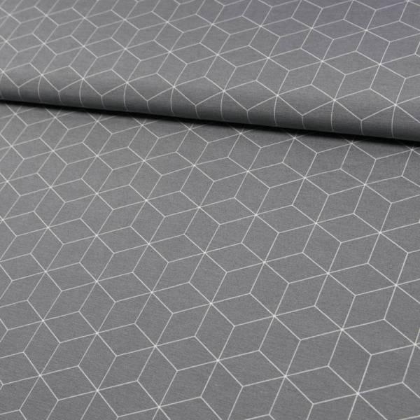 DS1156-502 Dekostoff würfel grau (1)