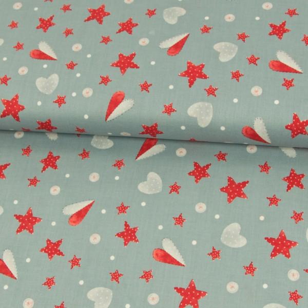 BW1501_502_Baumwollstoff_Weihnachten_Herzen_Sterne_grau_1